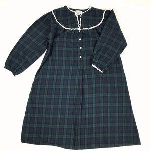 c712334f0a Lanz Of Salzburg Plaid Flannel Nightgown